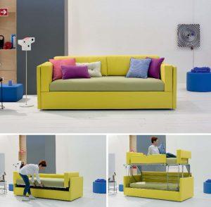 Arredare piccoli spazi con i mobili trasformabili arreda for Piccoli divani letto