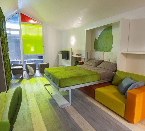 Arredare piccoli spazi con i mobili trasformabili arreda for Green arreda